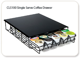 CLS100 Single Serve Coffee Drawer