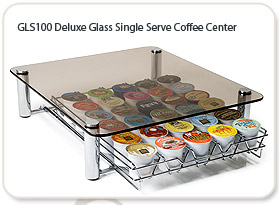 GLS100 Deluxe Glass Single Serve Coffee Center