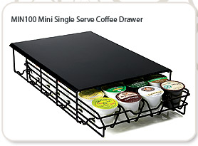 MIN100 Mini Single Serve Coffee Drawer